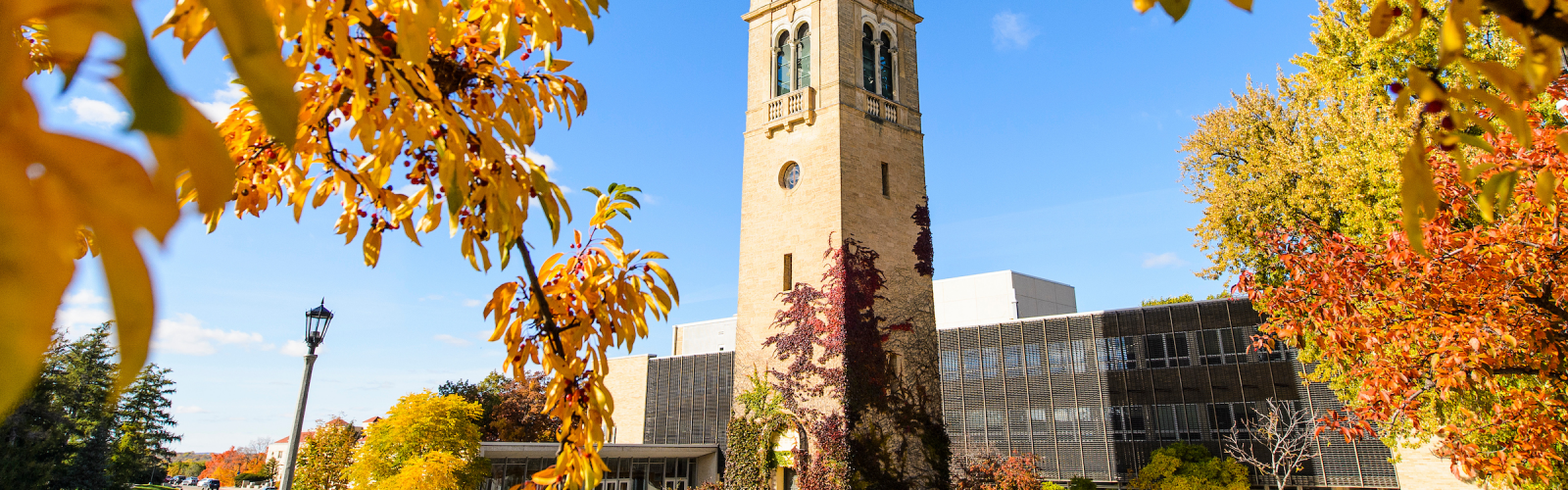 Carillon Tower in fall